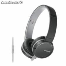 Auriculares sony mdrzx660apb / negro / microfono