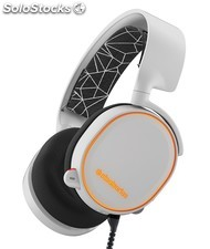 Auriculares SteelSeries - Arctis 5 - rgb - 7.1 - Blanco - pc, PS4, Xbox One,