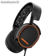 Auriculares SteelSeries - Arctis 5 - rgb - 7.1 - Negro - pc, PS4, Xbox One,
