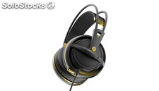 Auriculares steelseries siberia 200- alchemy gold