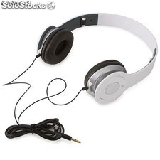 Auriculares stereo blancos