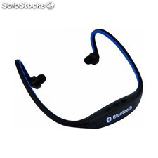 Auriculares stereo bt bluetooth PS3 azul/n satycon