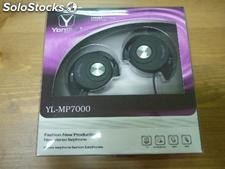 Auriculares stereo de oreja con microfono for iphone ipod ipad MP3 MP4 pc