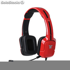 Auriculares Tritton kunai red stereo PS3