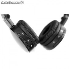 Auriculares Woxter Bluetooth BT-60 black