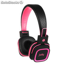 Auricularesmicro ngs artica jelly pink bluetooth
