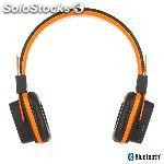 Auricularesmicro ngs orange artica jelly bluetooth