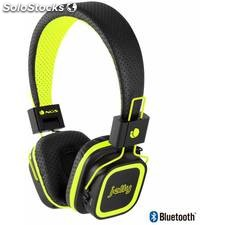 Auricularesmicro ngs yellow artica jelly bluetooth