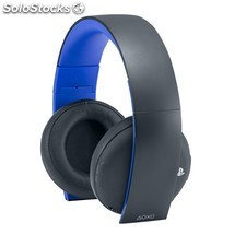 Auricularesmicro wireless sony PS4 negro/azul PGK02-A0005343