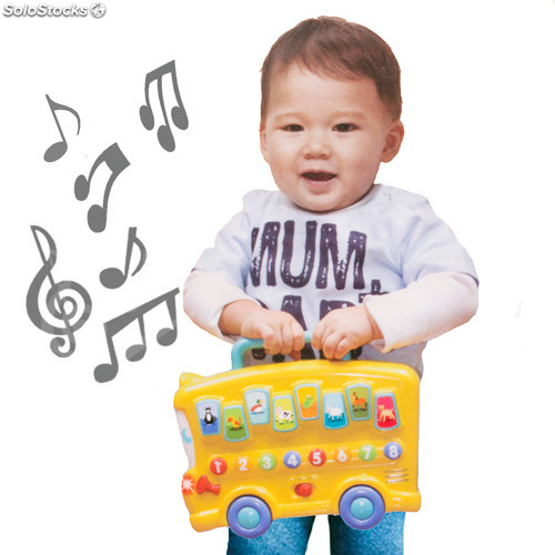 Autobús Musical Educativo Junior Knows