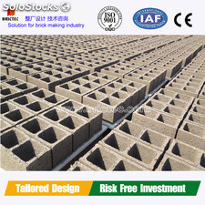 Automatic concrete brick making machine with best price