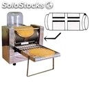 Automatic electric crepe maker - mod. 4q 4x15 - n. 4 square cast iron cooking
