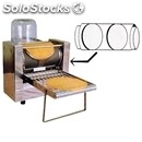 Automatic electric crepe maker - mod. dt 2x19 - n. 2 cast iron cooking surfaces