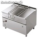 Automatic tilt electric braising pan - mod. brm120/912etff - pan lt 120 -