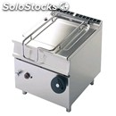 Automatic tilt electric braising pan - mod. brm80/98etff - pan lt 80 -