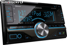 Autorradio Kenwood dpx-405BT, Radio CD Doble din, MP3, Bluetooth