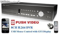 Avc706h dvr 8 channels avtech