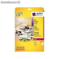 Avery - ave C25H et DVD diamet.117MM bl L7776-25