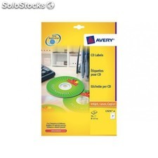 Avery C100H etiquetas CD DVD r d.117 ink L7676 100