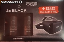 Axe deo duplo+gafas virtual black