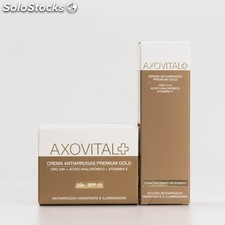 Axovital PACK Crema Antiarrugas Premium Gold,50ml + Serum Antiarrugas,30m