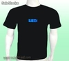 azul Scrolling Text led Light Shirts