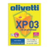 B0261. ink-jet olivetti (xp03) negro + colores