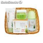 Babaria aloe vera crema 50ML + desodorante roll-on 75ML + crema MANOS100ML