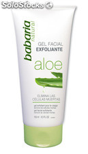 Babaria: gel facial exfoliante aloe vera 150ml