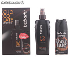 Babaria men chocolate fragance lote 2 pz