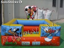 Baby vasca palline cartoon 2,50x2,50 h 2,00