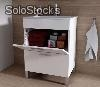 badezimmerschrank kit potes 60x45 mit keramik waschbecken denia 61x46. Black Bedroom Furniture Sets. Home Design Ideas