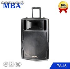 Bafle Bocina Recargable Amplificado pa15 Bluetooth Usb sd mic remoto rms150w