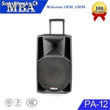 Bafle parlante Recargable Amplificado pa12 Bluetooth Usb bluetooth FM rms 100w