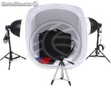 Bag 75cm portable photo studio with lights and tripod (EW62)