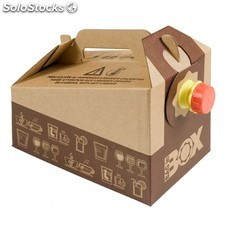 Bag in box 3 l carton