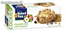 BAKED4YOU 135g Chocolate Chip with Hazelnut Cookies