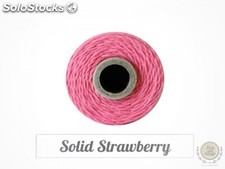 Baker Twine · Solid Strawberry