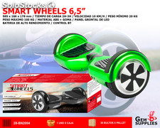 Balance Scooter Electrico Smart Wheels Con Bluetooth
