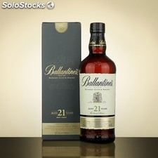 Ballantines Scotch Whisky Finest, Limited, 12, 17, 21, 30 years old Alcohol