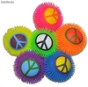 Balle lumineuse love and peace - 21cm