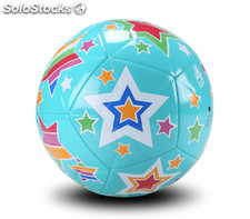 Ballon de football, sport outdoor - Multicolore - Taille 4 (Age 8-12 ans)
