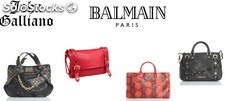 Balmain y Galliano Bolsos