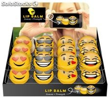 Bálsamo labial emoticonos