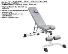 Banc musculation machine quadriceps/ischios