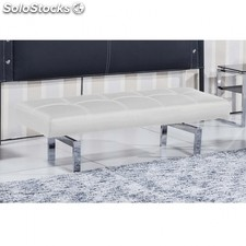 Banco Bench Polipiel - Color - Blanco