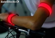 Banda LED autoajustable para running/ciclismo