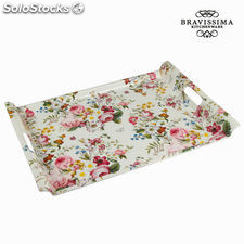 Bandeja bloom white - Colección Kitchen's Deco by Bravissima Kitchen
