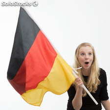 Bandera de Alemania con Asta Th3 Party (90 x 60 cm)