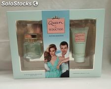 Banderas queen seduction estuche colonia 50 ml + loción corporal.